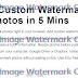 Cara mudah memberi Watermark pada Gambar sekaligus