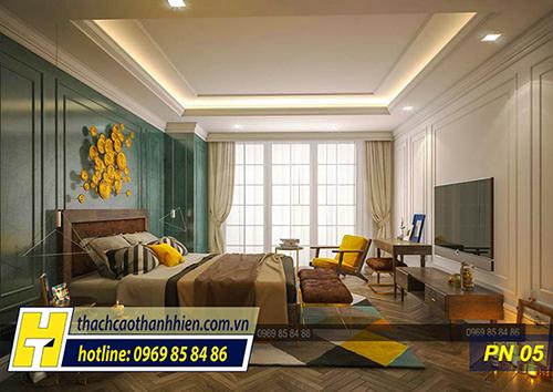 Thủ thuật trong thiết kế trần thạch cao phòng ngủ