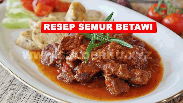 SEMUR BETAWI DAGING SAPI