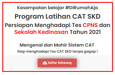 Program Latihan CAT CPNS Tahun 2021