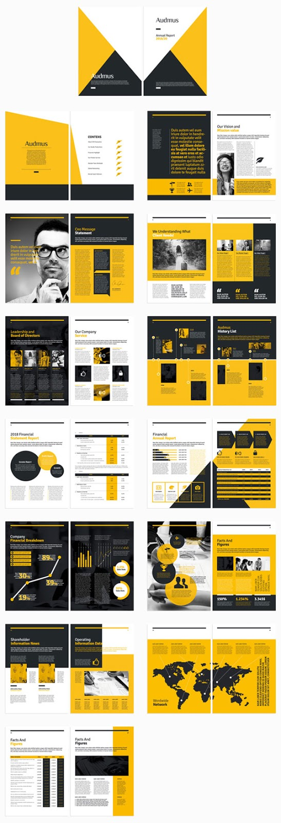 Inspirasi 20+ Desain Brosur dan Katalog Modern - Beautiful Catalogue Design Ideas