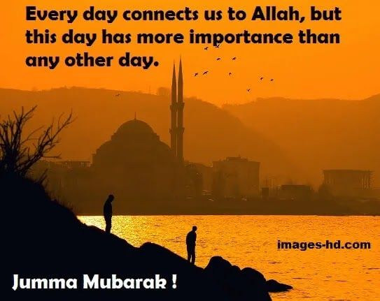 Jumma have more importance than any other day