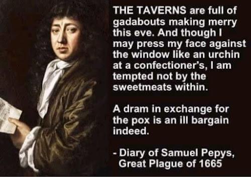 Samuel Pepys Pubs reopening