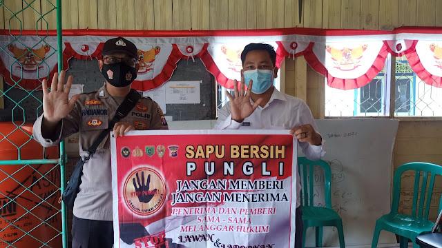 Berantas Pungli, Bripka Hadianoor Terus Sosialisasikan Pepres No 87 Tahun 2016