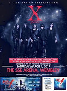 X JAPAN, retour du groupe mythique le 4 mars à Wembley