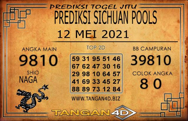 PREDIKSI TOGEL SICHUAN TANGAN4D 12 MEI 2021