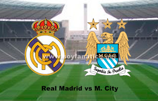 Real Madrid vs Manchester City 2016