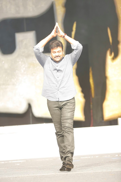 Megastar Chiranjeevi at Khaidi No 150 Movie Pre Release Photos