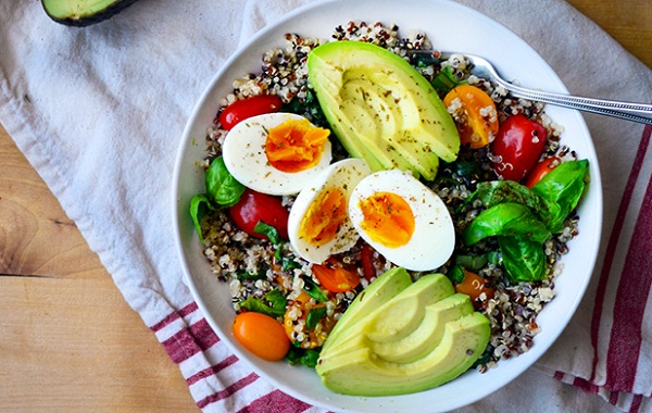 healthy breakfast recipes for weight loss, citrus salad, grain bowl