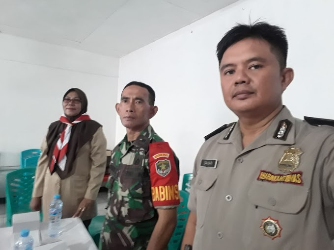 Wakili Danramil 05/KJ, Pelda Sri Darmono Hadiri Pengukuhan Gudep