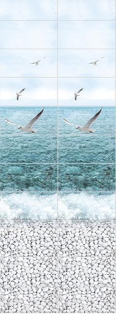 Море Панно Чайки