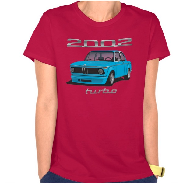 BMW 2002 turbo t-shirts