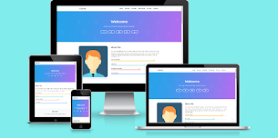 Course Theme Responsive Blogger Template