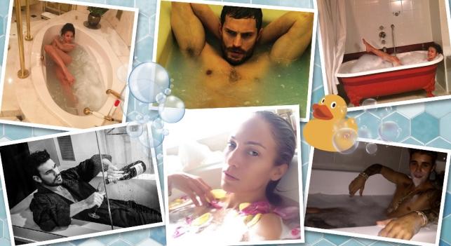 Blanca Suarez, Justin Bieber, Mario Casas et Jennifer Lopez, parmi les célébrités qui ont pillès une fois dans la baignoire