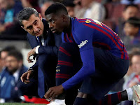 Dembele Injury Adds to Barcelona's Problem