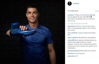 7 tỷ để xuất hiện trên facebook Ronaldo