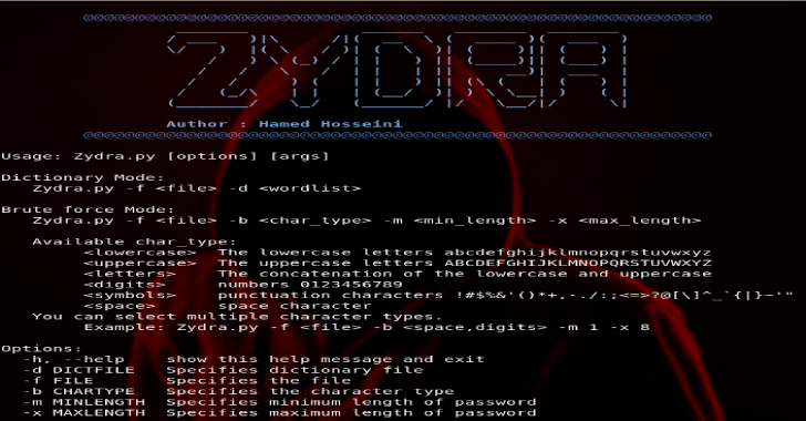 Zydra : Password Recovery Tool & Linux Shadow File Cracker
