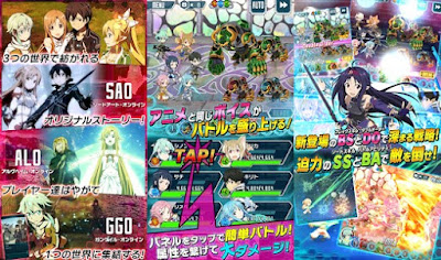 Sword Art Online Code Register MOD Apk Global Terbaru