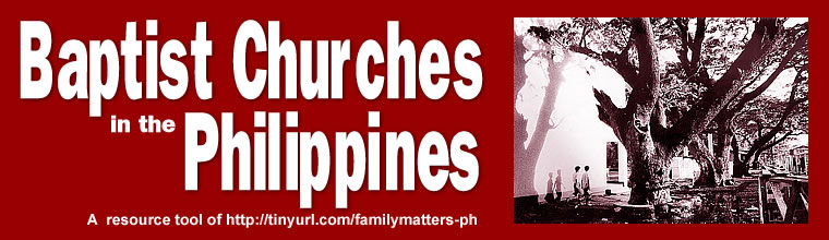 Baptist Churches in the Philippines