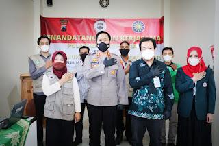 Tingkatan Pelayanan Pada Masyarakat, Polres Banjarnegara Bersama RSU PKU Muhammadiyah Jalin Kerjasama Sarsipol