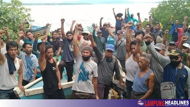 Nelayan Tuntut Janji Gubernur Bangka Belitung, Hapuskan Tambang Laut Ilegal di Zona Tangkap Ikan Teluk Kerabat Dalam