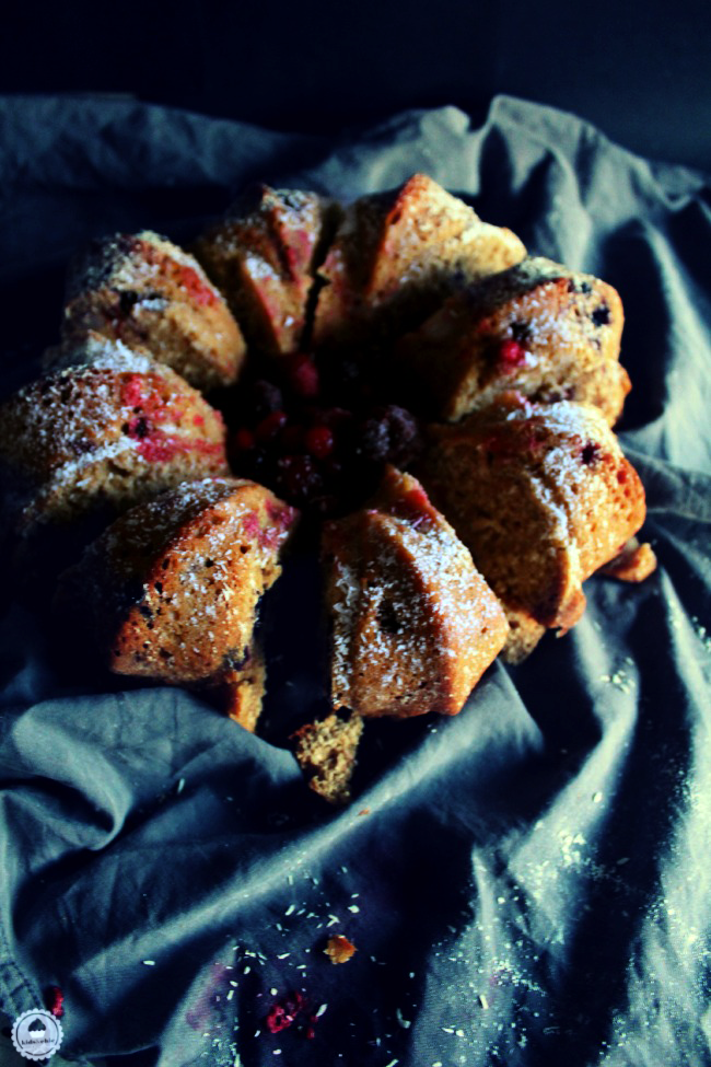 cranberry coconut orange bundt cake 004