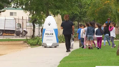 A US city police department launches use of robots
