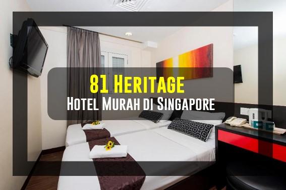 Rekomendasi Hotel Murah di Singapore
