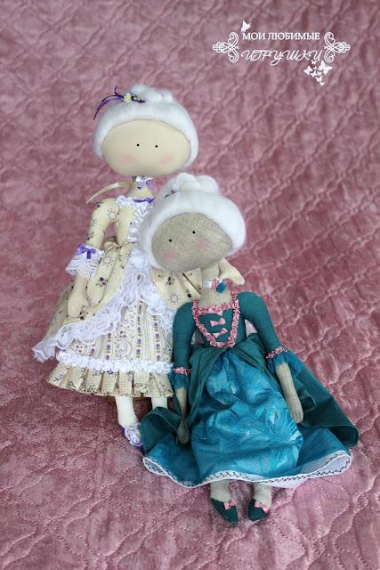 Мои любимые игрушки, текстильная кукла