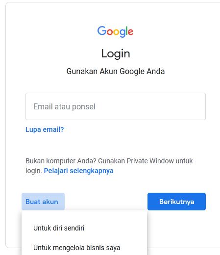 Cara Mudah Bikin Akun Gmail Baru Mas Subhan Blog