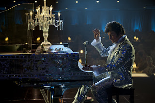 Michael Douglas as Liberace in Behind the Candelabra