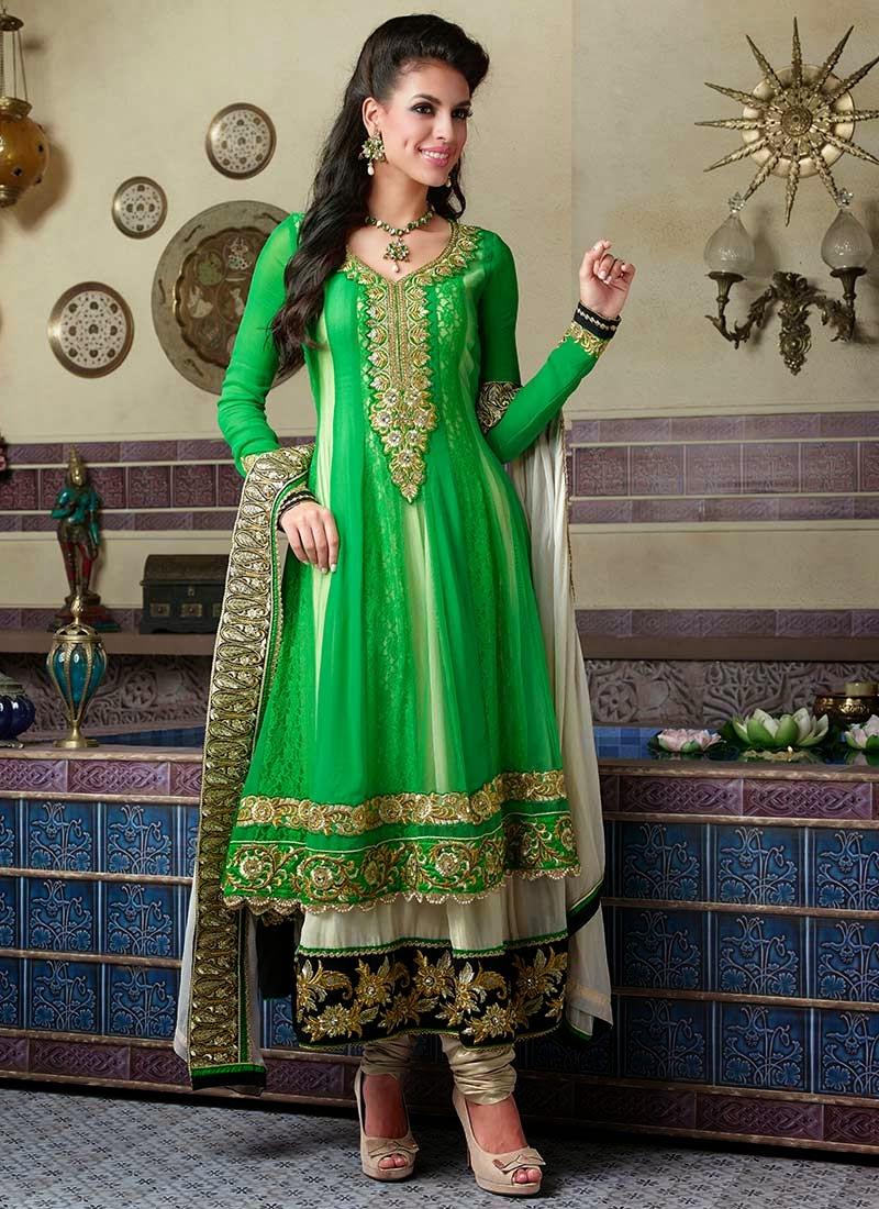 Pakistani Frocks Design 2014-2015