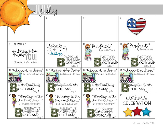 Summer Learning Lesson Plans