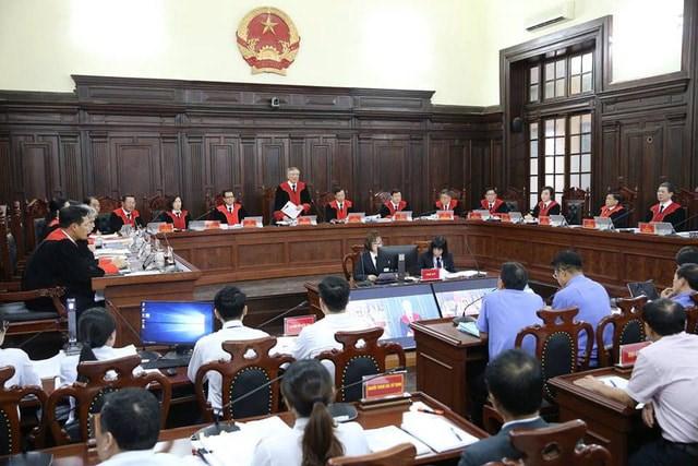 Bên trong phiên tòa giám đốc thẩm vụ án tử tù Hồ Duy Hải