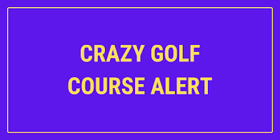 The Glory Holes Crazy Golf course is opening in Hockley, Nottingham