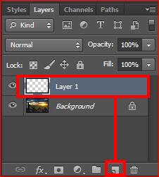 cara membuat tulisan transparan di photoshop