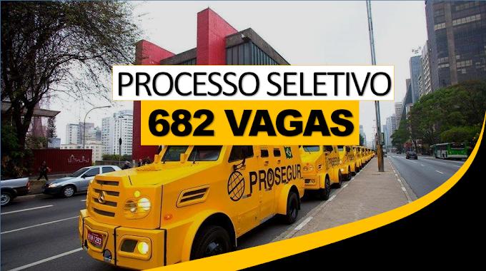 Prosegur publica processo seletivo com 682 vagas de trabalho em todo o país!