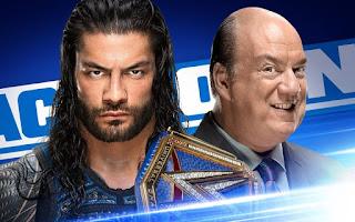 Roman Reigns Smackdown Paul Heyman Champion WWE Universal Uso