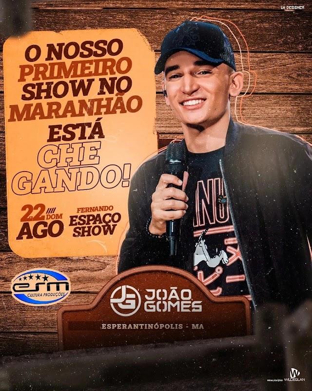 """""""Astro do piseiro, João Gomes, está chegando em Esperantinópolis"""""""