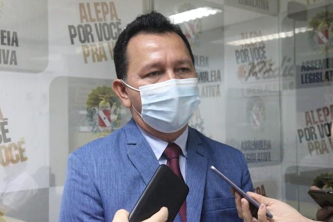 José Maria Tapajós solicita ampliação de leitos de UTI e reabertura do Hospital de Campanha em Santarém