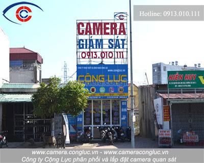 Lắp đặt camera giám sát giá rẻ, chất lượng tốt tại An Biên - Hải Phòng.