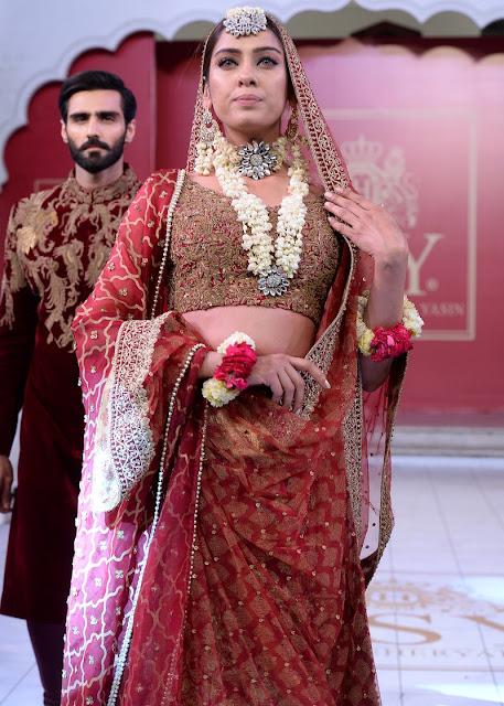 HSY Shalimar lehnga bridal dress