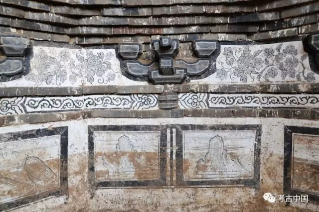 Ancient tomb with well-preserved murals discovered in north China