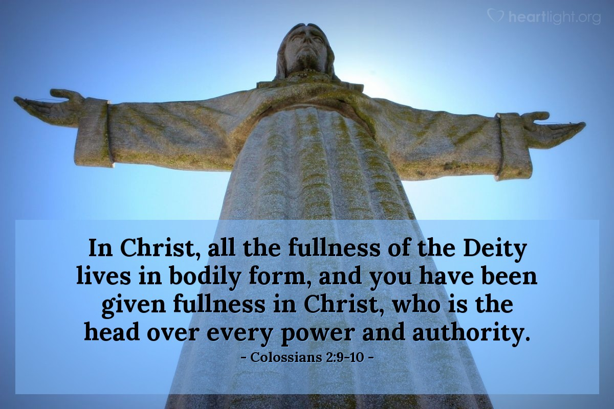 lectionarypondering: Colossians 2:6-19