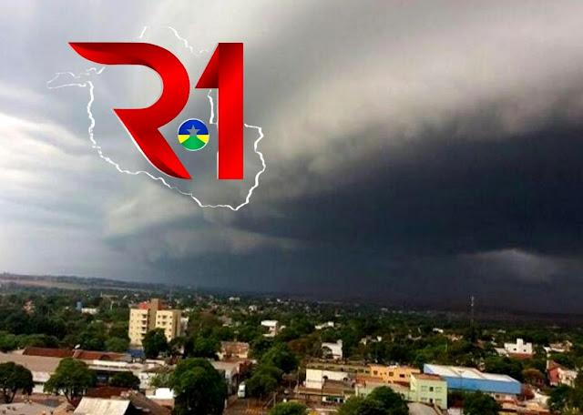 Sol em grande parte de RO, mas na capital tempo nublado com chuvas nesta terça-feira (11)