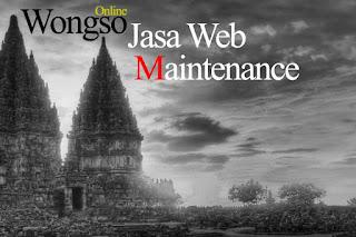 Jasa web maintenance, Jasa perbaikan website, jasa pemeliharaan web
