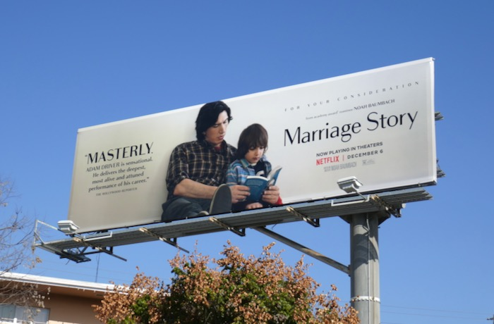 Marriage Story Masterly FYC billboard