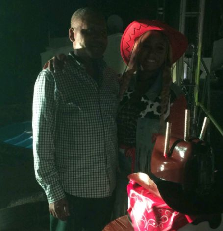 Dangote shows up at Otedola's daughter's 25th birthday bash