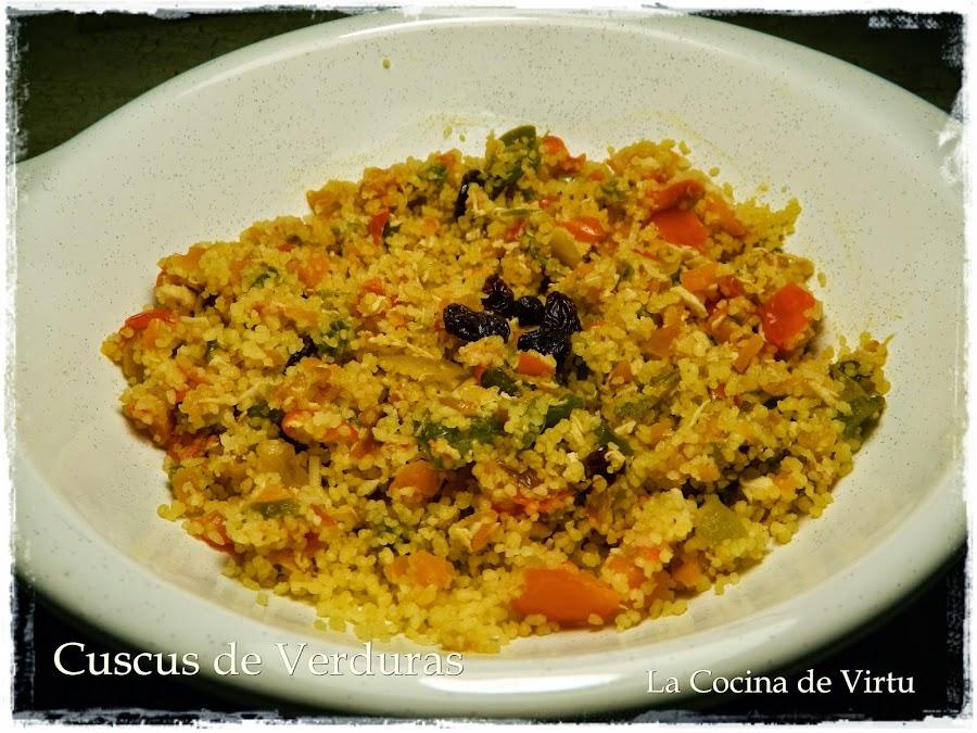 Cuscus de verduras al micro