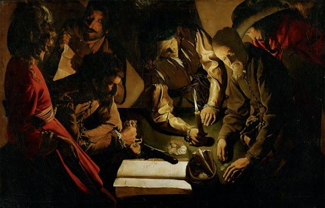 "Georges de Latour ""Pagamento (Cálculo)"""